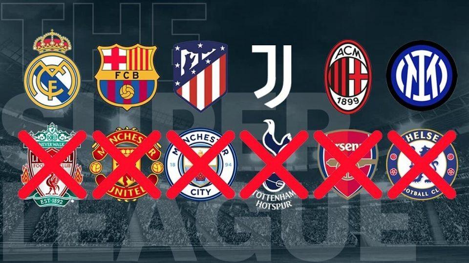 Суперлигата се распадна уште пред да почне: Шесте англиски клуба го напуштија натпреварувањето