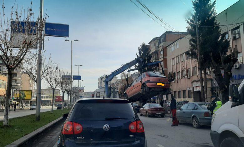 Тетовската полиција одзела 45 возила поради истечена регистрација