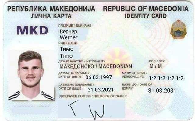 По брза постапка: Германецот кој промаши чист гол стана македонски државјанин!