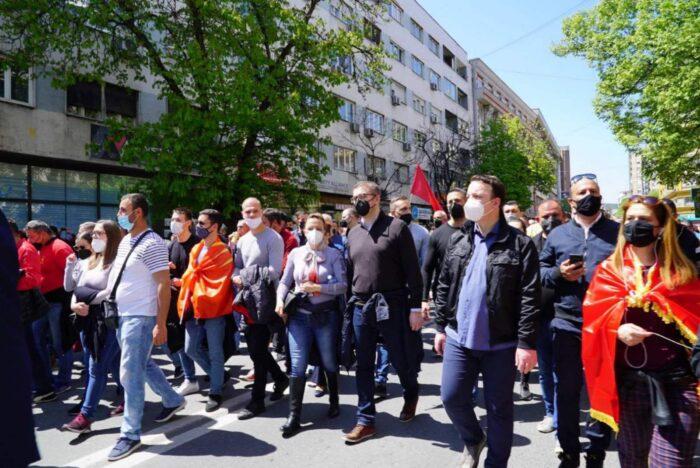 СДСМ за уставобранителите: Тие се насилници