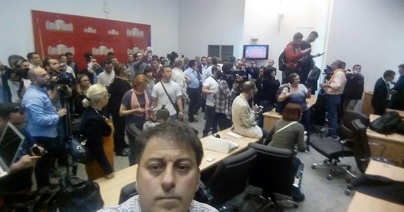 """Судот ја одби тужбата на новинарот Трпеновски за претрпен страв за настаните од """"27 април"""""""