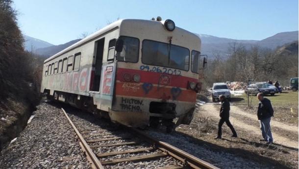 Вагон излета од пругата Скопје – Куманово
