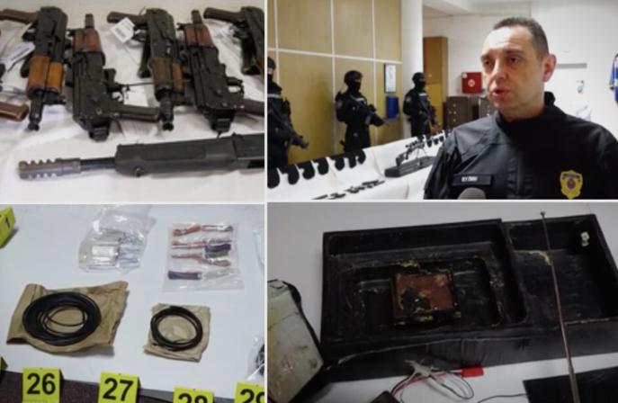 """Вулин: Десет килограми експлозив биле пронајдени во тајната просторија во """"куќата на ужасот"""" во Ритопек"""