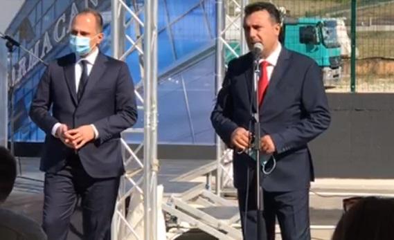 (ВО ЖИВО) Прес-конференција на Заев и Филипче по повод пристигнување на нова пратка вакцини