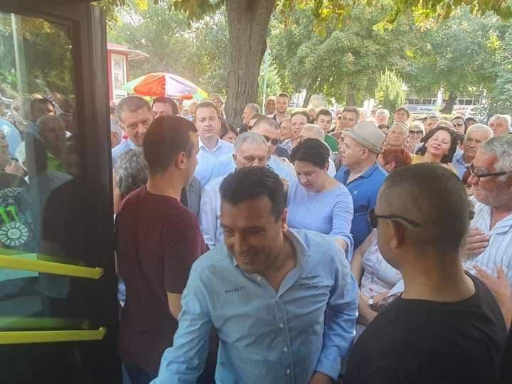 (ФОТО) Уапсениот полициски функционер близок со Спасовски и Заев