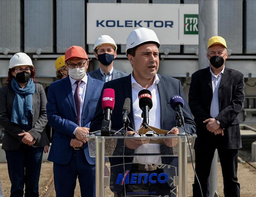 Заев од Битола: Инвестираме во стабилен енергетски систем