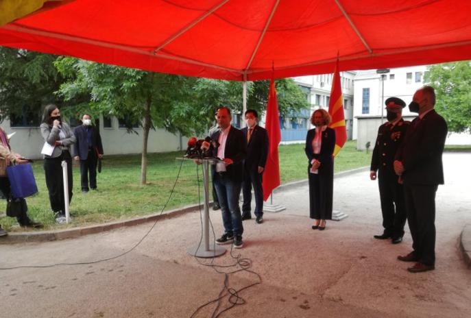 """100.000 донирани """"Синофарм"""" вакцини пристигнаа во поликлиниката """"Јане Сандански"""""""