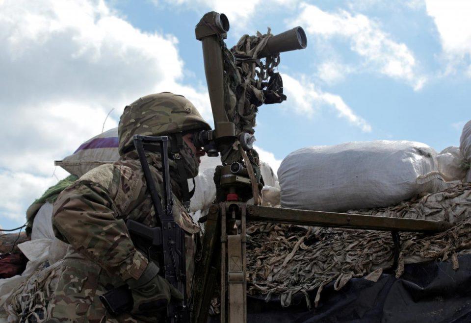 Украински гранати паднаа во регионот Донбас