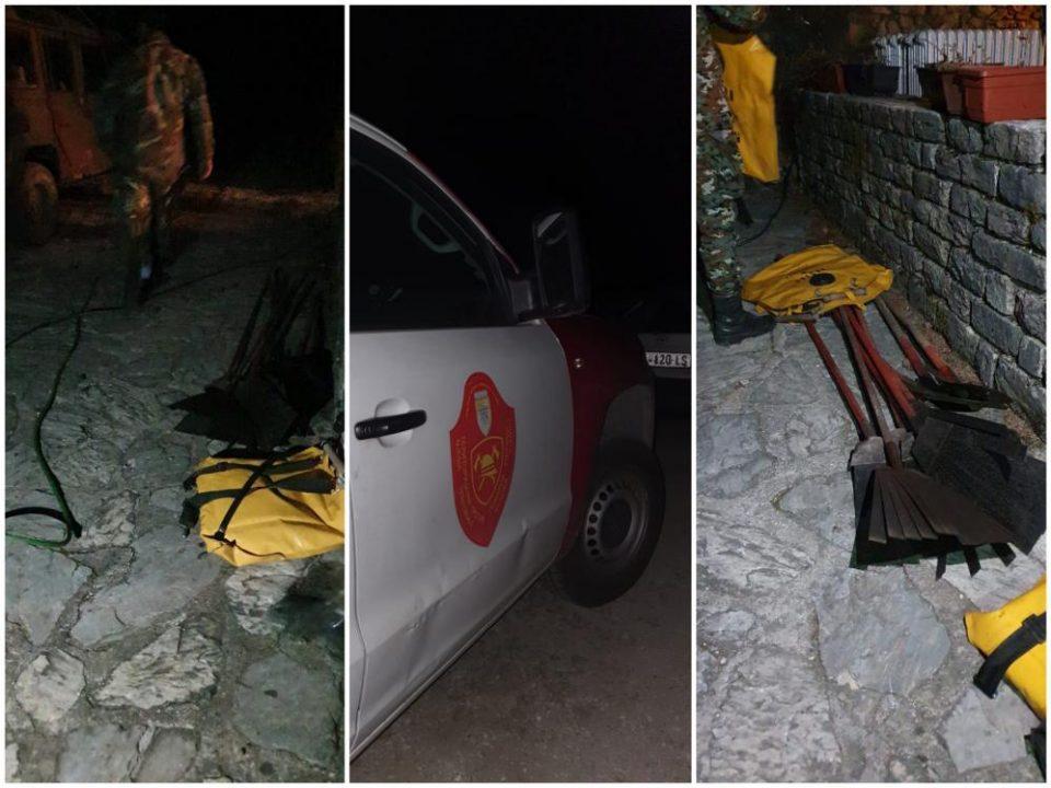 (ФОТО) Изгаснати и последните остатоци од пожарот над село Галичник