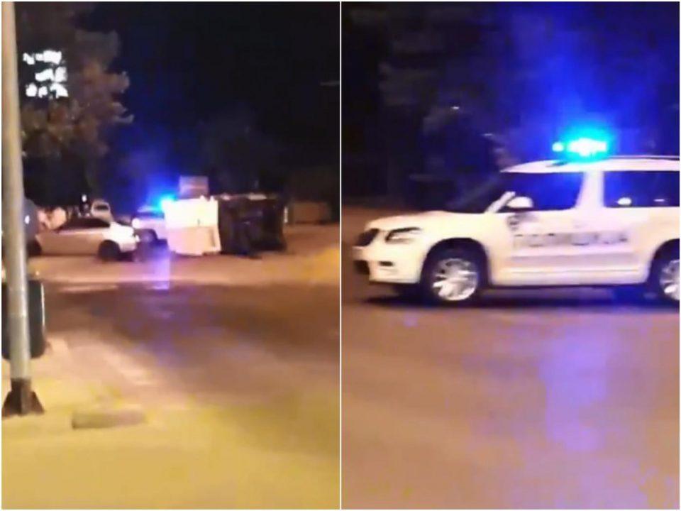 Видео од тешката сообраќајка кај Ченто, сепак имало полициска потера