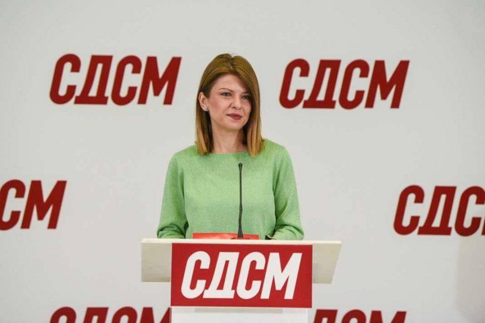 Лукаревска: Отворен е повикот за членови и претседатели на комисиите на СДСМ