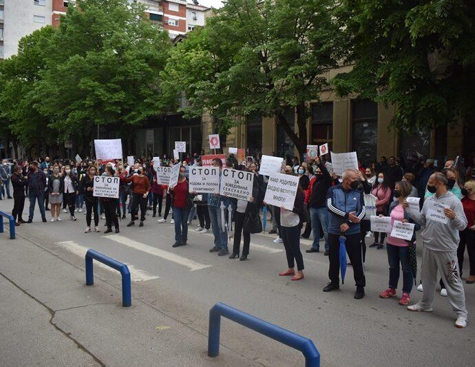 """СДСМ како """"стрини на пазар"""" се расправаат кој го правел протестот, наместо да ги решат проблемите, велат од опозицијата"""