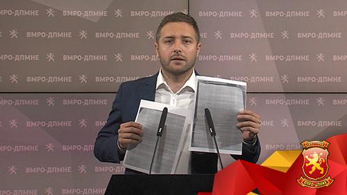 """(ВИДЕО) Арсовски: Фирмата """"СВ Инвест"""" блиска до Заеви и поврзувана со случајот рекет во РЕК Битола, e во стечајна постапка"""