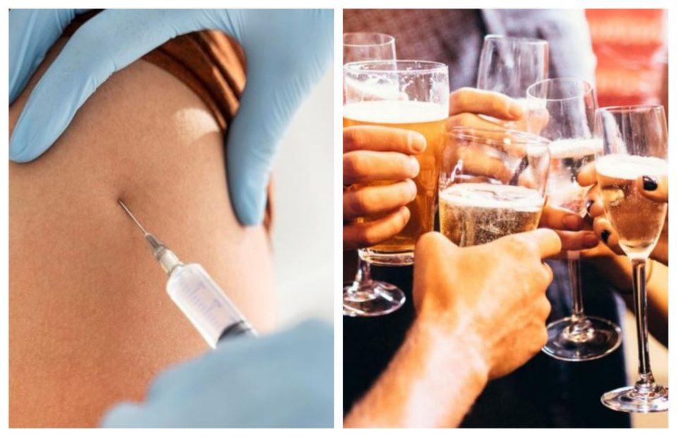 Дали смееме да конзумираме алкохол по вакцинација од Ковид-19?