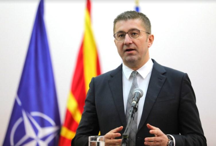 Мицкоски: Албанските партии ќе добијат поддршка на локалните само ако ги почитуваат Македонците