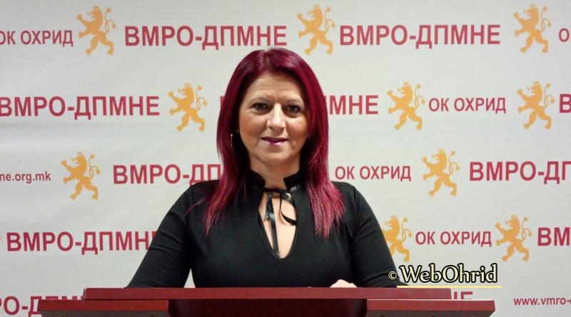 Петкоска: СРАМ за кој македонската јавност мора да слушне и мора да знае, бесплатно здравство за сите!