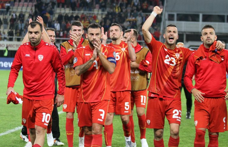 Македонската репрезентација најгруба на Европското првенство