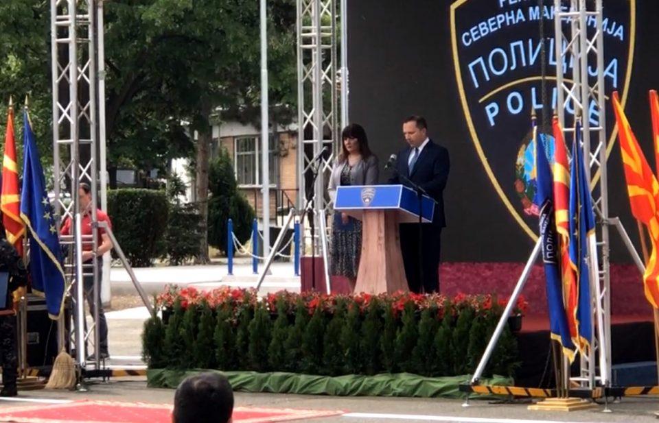 (ВО ЖИВО) Обраќање на министерот Спасовски по повод Денот на македонската полиција