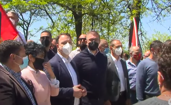 (ВО ЖИВО) ВМРО-ДПМНЕ го одбележува Денот на победата над фашизмот