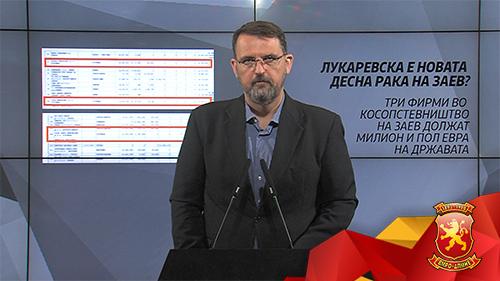 Стоилковски: Три фирми во косопствеништво на Заев должат милион ипол евра на државата
