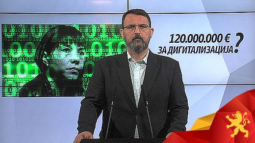 (ВИДЕО)Стоилковски: Дали дигитализацијата на Царовска ќе чини 120 милиони евра?