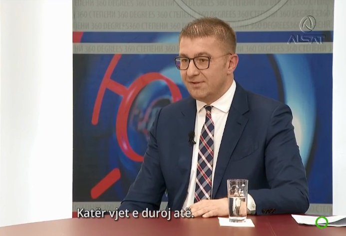 ВМРО-ДПМНЕ е подготвена да разговара со сите опозициски партии кои сакаат оваа Влада да замине, вели Мицкоски