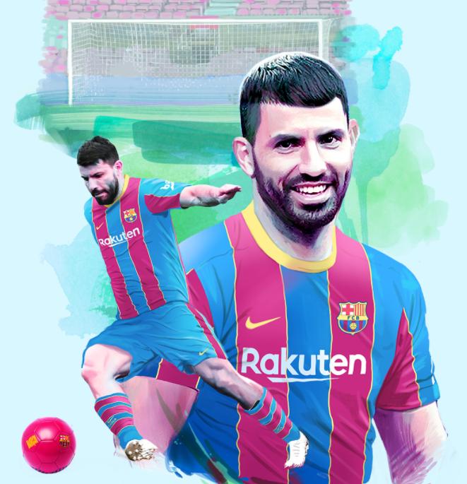 Барселона со засилување, Агуеро е новиот фудбалер во тимот