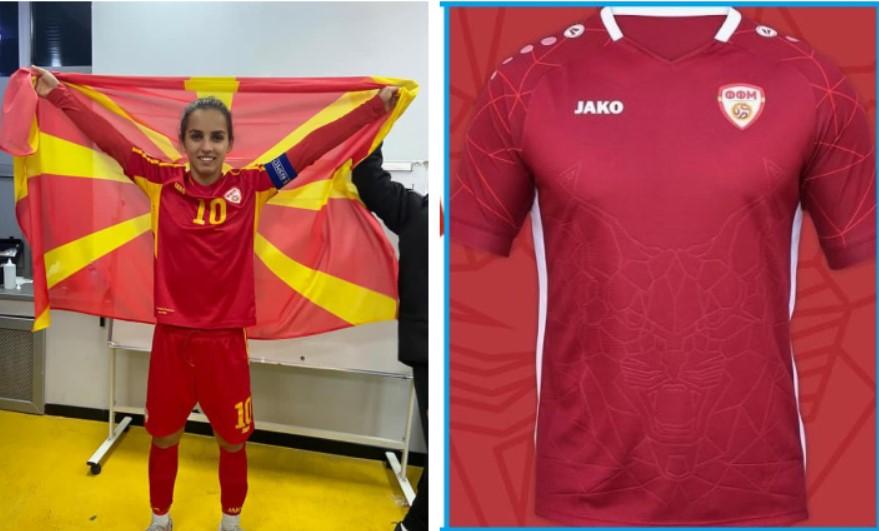 Фудбалерката Андонова против бордо дресовите: Црвено-жолта е бојата за која живот даваме!