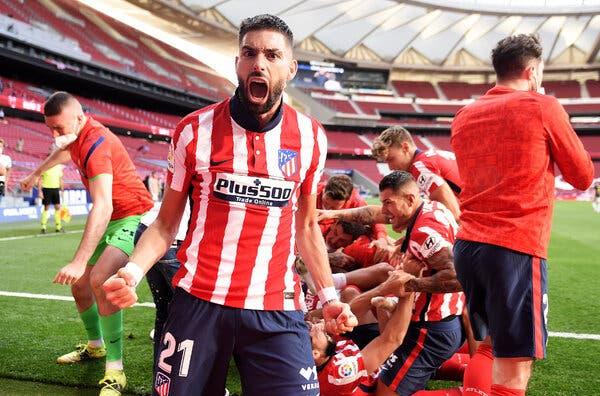 Неизвесно до последен момент, но Атлетико Мадрид стана шампион на Шпанија
