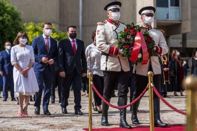 Владина делегација положи цвеќе по повод Денот на сесловенските просветители Св. Кирил и Методиј