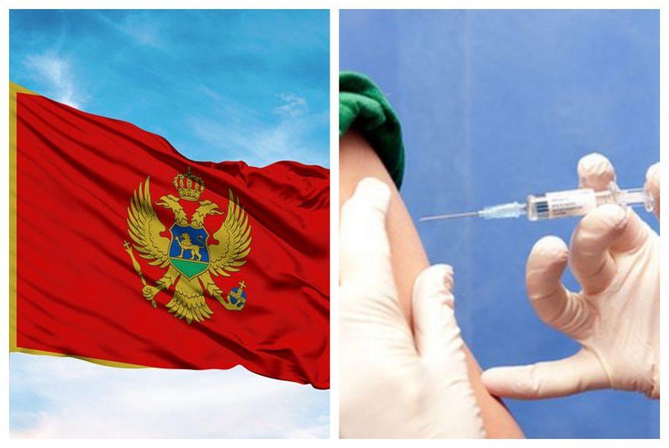 Вакцинирана една четвртина од населението во Црна Гора