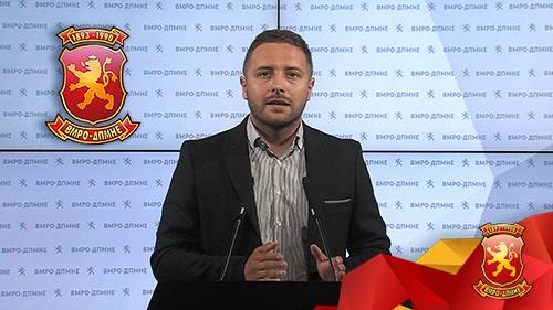 (ВИДЕО) Арсовски: За 300 000 евра Владата бара маркетинг агенција за промоција на вакцинирањето