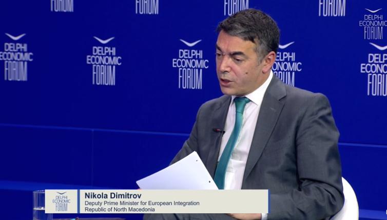 Димитров: Ако ЕУ не испорача, ние не можеме да испорачаме на граѓаните