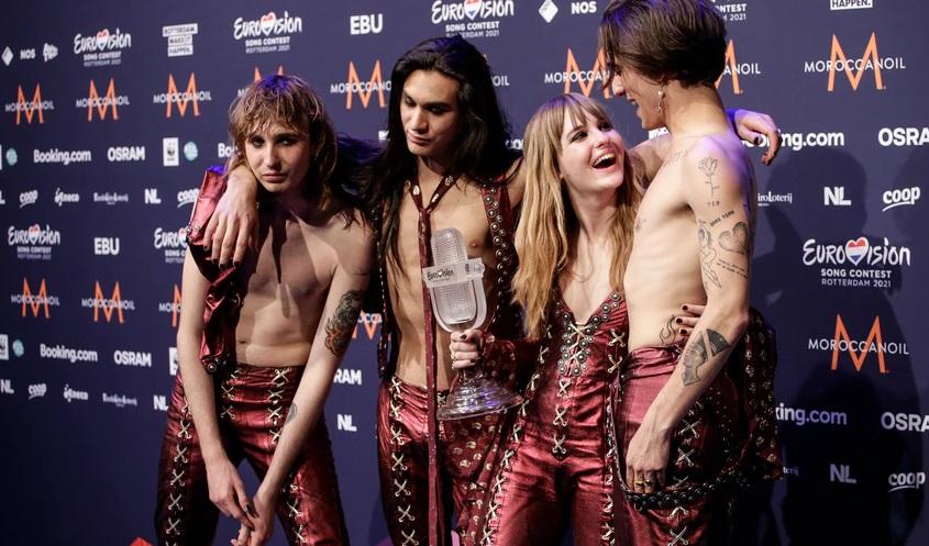 """Италијанскиот бенд """"Манескин"""" во нов скандал – Победничката песна на Евровизија е плагијат?"""
