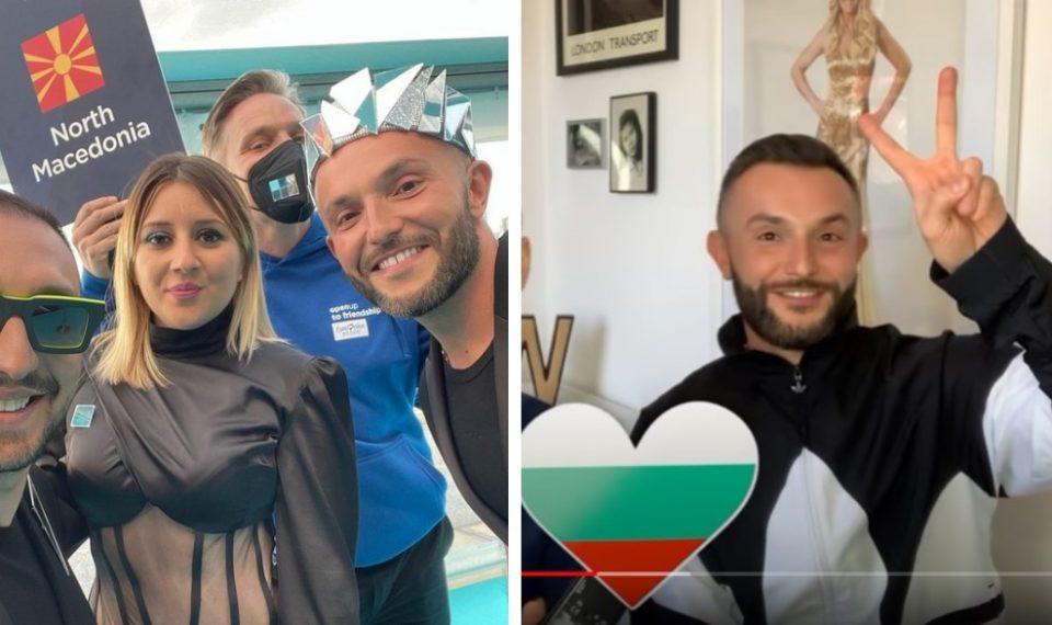 (ФОТО) Погледнате како Гарванлиев ќе нè претставува на Евросонг