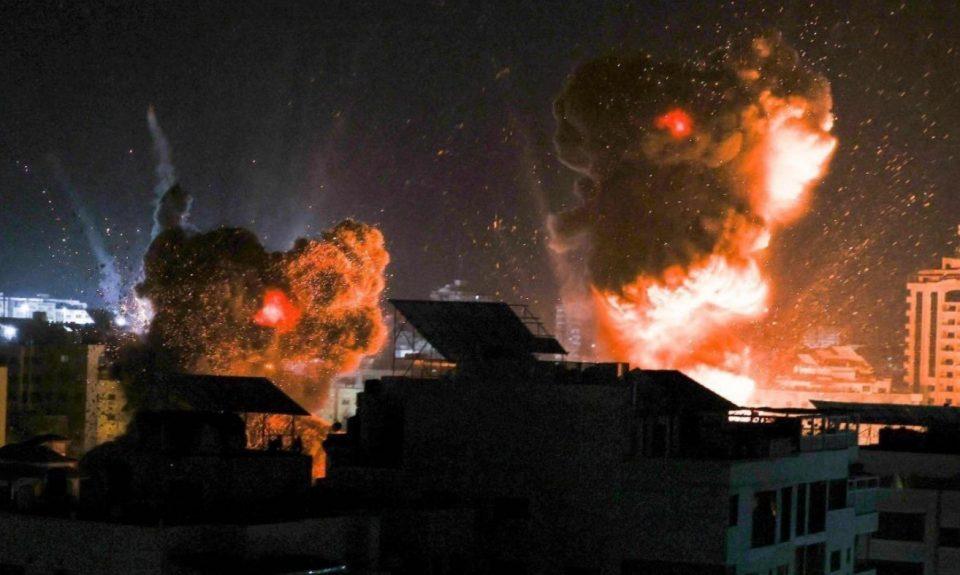 (ФОТО+ВИДЕО) Страшни сцени по вчерашните напади врз Хамас, Израелската армија уништи повеќе непријателски локации