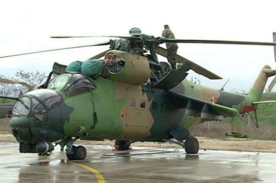 Хеликоптер на АРМ ќе го гаси пожарот што избувна над Галичник