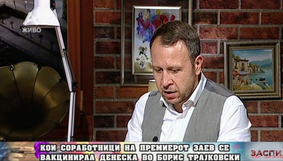Јанушев: Се вакцинираа голем дел соработници и сопартијци на Заев, тоа не е дозволиво бидејќи секој живот е подеднакво важен
