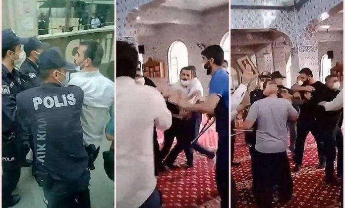 Инцидент во џамија во Турција, полицијата интервенираше