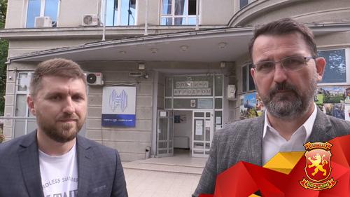 Стоилковски на увид во општина Аеродром за тендерите, Марин во работно време не е на работа