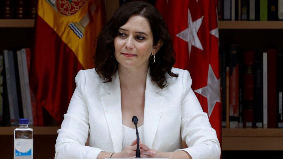 Изабела Дијаз Ајузо победник на изборите во Мадрид