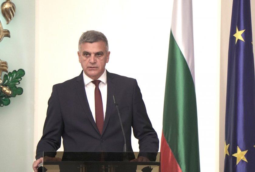 Подготвени сме за диjалог и практични решенија за проблемот со Македонија, вели привремениот бугарски премиер