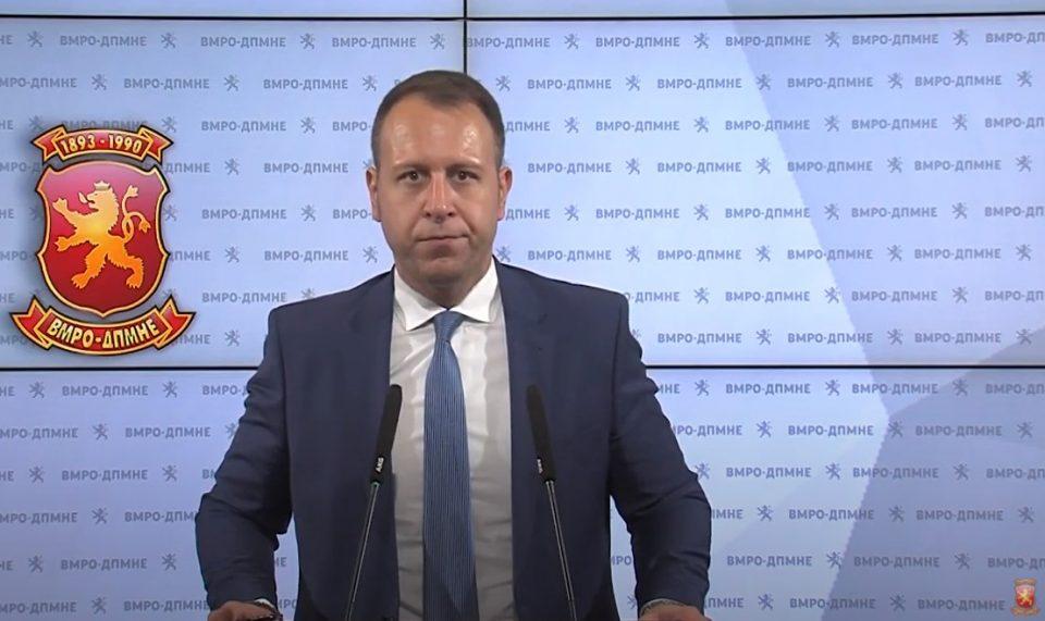 (ВИДЕО) Јанушев: Во МВР местеле тендер за пневматици