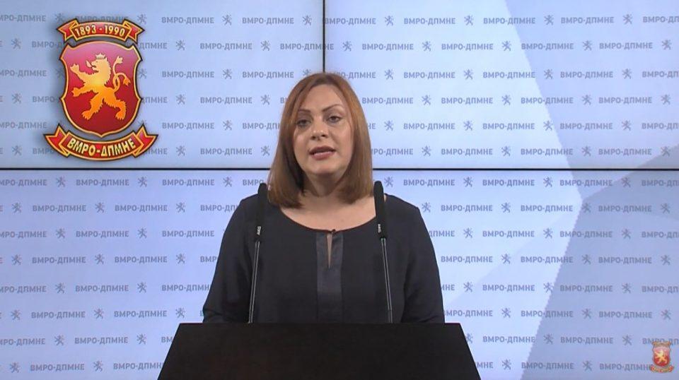 Димитриеска-Кочоска: Заев лажеше за инвестициите во 2019-та, сега лаже за нови милијарди!