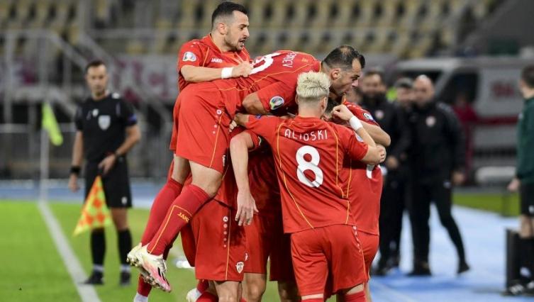 Еден доцен гол ја скрати радоста на нашите фудбалери, Македонија беше на прагот до победа