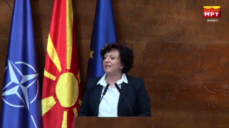 Стаменкоска Трајковска: Власта со злоупотреба на европско знаменце носи штетни закони
