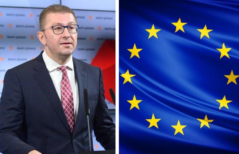 Мицкоски: Да му биде јасно на секој политичар во Брисел – Македонија заслужува безусловен почеток на преговорите со ЕУ!