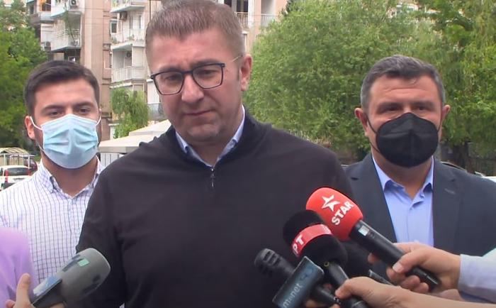 Мицкоски ги повика малите партии да ја напуштат коалицијата на Заев