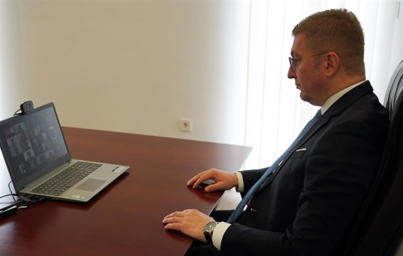 Мицкоски и Пешевска учествуваа на онлајн работилница организирана од Фондацијата Конрад Аденауер