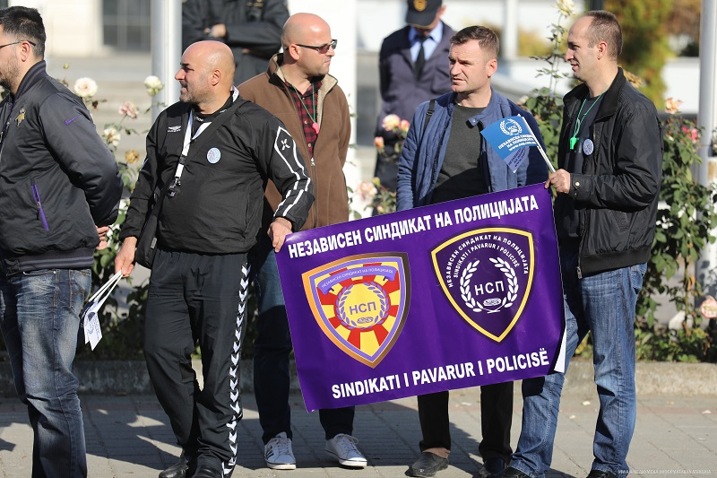 Независниот синдикат на полицијата повика на масовен протест
